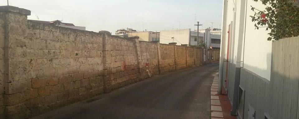 Segnalazione muro pericolante