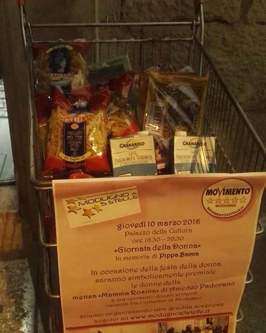 """Colletta alimentare per """"Mamma Rosina"""" di Amedeo Padovano"""