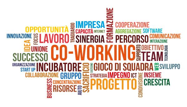 Spazio coworking e opportunità per le nuove generazioni