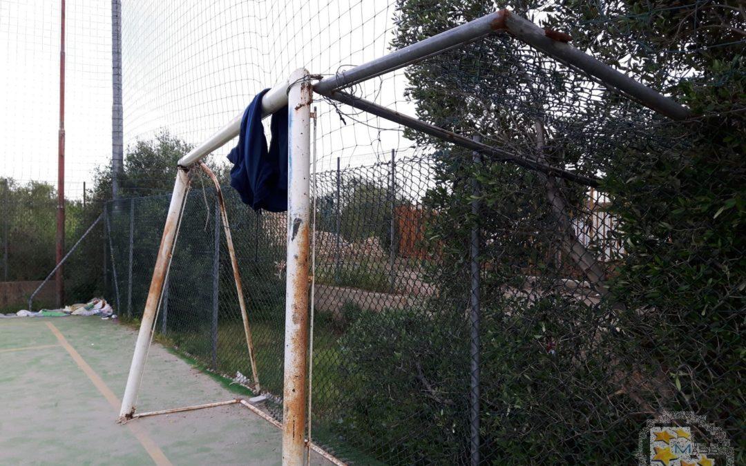 Campo calcetto scuola Rodari – via Bitritto