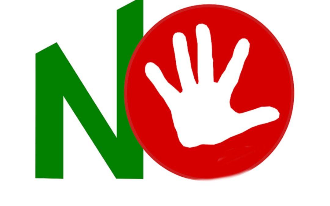 Riforma Costituzionale #NO