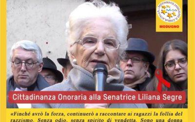 Cittadinanza onoraria a Liliana Segre