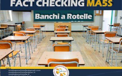 Banchi a rotelle scuola