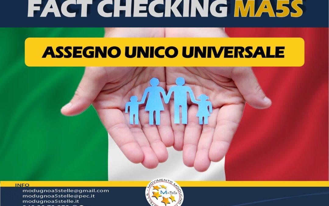Assegno Unico Universale